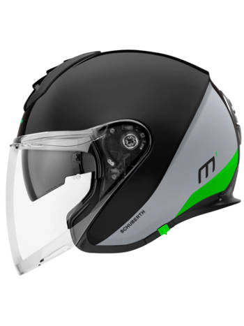 Kask otwarty Schuberth Metropolitan M1 Gravity Green