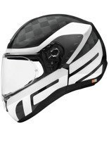 Kask integralny Schuberth R2 Carbon Cubature White