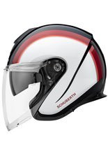 Kask otwarty Schuberth M1 PRO Outline Red