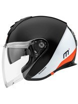 Kask otwarty Schuberth Metropolitan M1 Gravity Orange