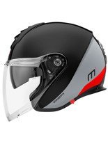 Kask otwarty Schuberth Metropolitan M1 Gravity Red