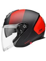 Kask otwarty Schuberth Metropolitan M1 Resonance Red