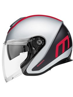 Kask otwarty Schuberth M1 PRO Triple Red